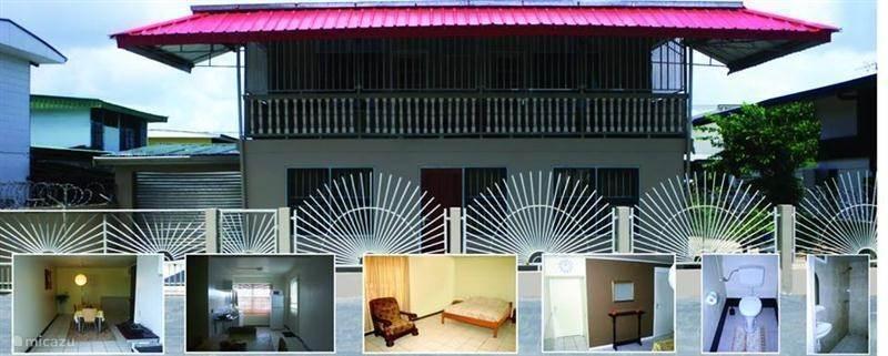Vakantiehuis Suriname – geschakelde woning Nosa's gastenverblijf