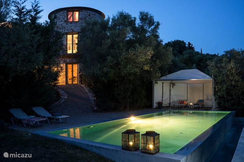 Vakantiehuis Griekenland, Lefkas, Vasiliki Villa Thyme Tower, Towervillas