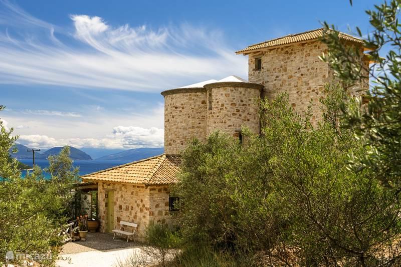 Vakantiehuis Griekenland, Lefkas, Vasiliki Villa Mint Tower Towervillas