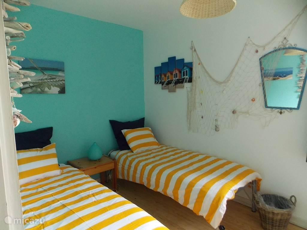 De kleine strandkamer