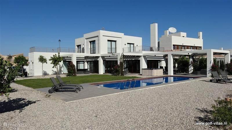 Vakantiehuis Spanje, Costa Cálida, Sucina villa Golfvilla