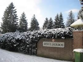 de ingang van camping Speulderbos