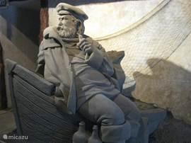 niet te vergeten de mooie zandsculpturen in de beeldentuin te Garderen