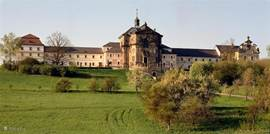 Beautiful castle Kuks hospital in kuks