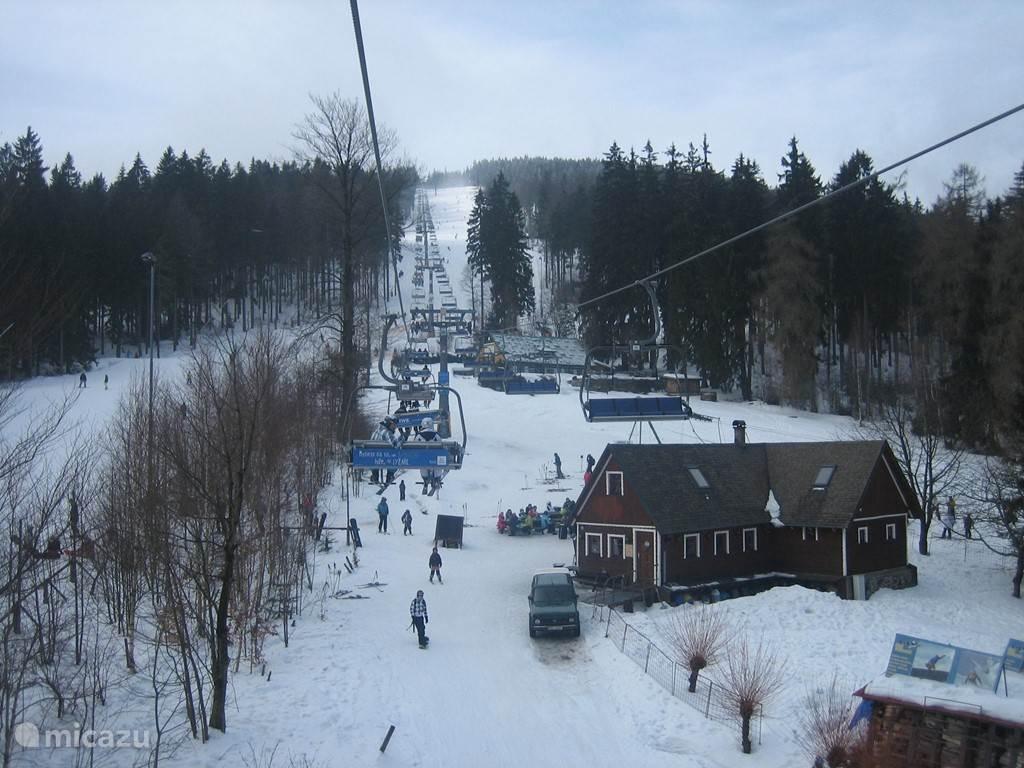 Fijn  skiën en gezelligheid in Janske Lazne
