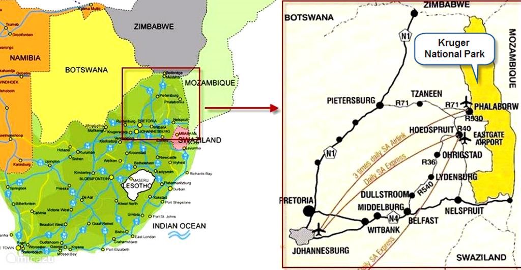 Kaart van locatie