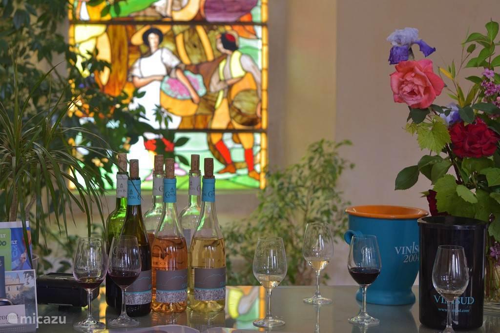 Capion. Op 1 uur rijden vind je de lekkertse wijnhuizen van de Langedoc