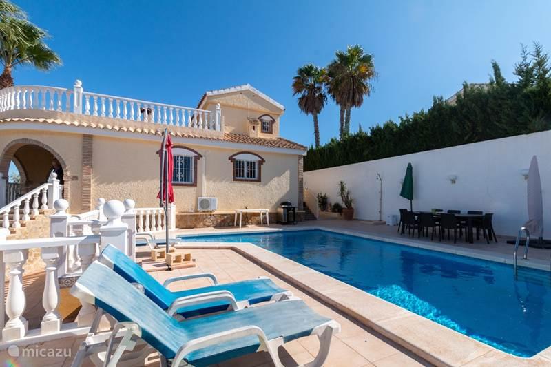Vakantiehuis Spanje, Costa Blanca, Gran Alacant - Santa Pola Villa Casa Bianca