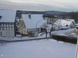 View from the bedrooms in winter