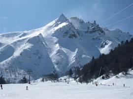 Le Mont Dore! wunderbar Skifahren für Anfänger und Fortgeschrittene.