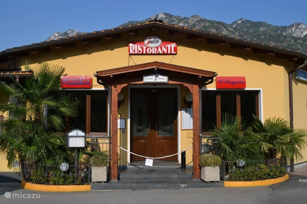 Restaurant Il Pinguino op de camping.
