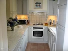 Half open keuken.