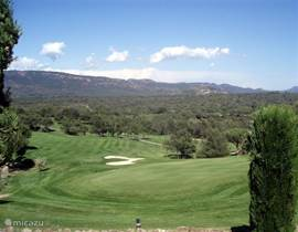 Overlooking the 9th hole of the Golf Course of St.Endréol