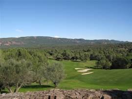18e hole Golfbaan Saint Endréol