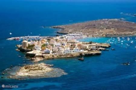 Tabarca wordt veel door toeristen bezocht als dagexcursie.