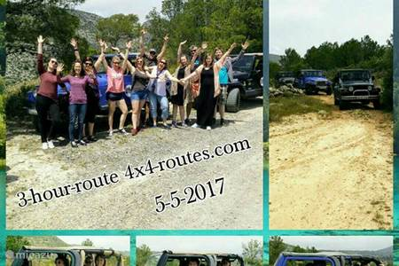 Jeep Safari 4X4 Excursies in Alicante - Costa Blanca