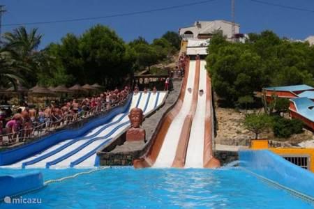 Aquapark Rojales / 10 min lopen vanaf de villa.
