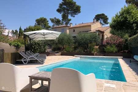 Vacation rental France, Var, Nans-les-Pins villa Mirabeau