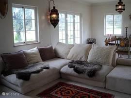 Heerlijke loungebank om lekker op te relaxen