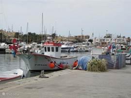 De vissershaven van het authentieke vissersdorp Cabo de Palos. En .... u kunt ales te voet bereiken!