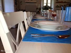 nogmaals de grote keukentafel
