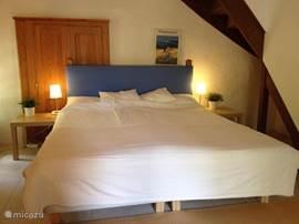 Tweede slaapkamer op de begane grond.