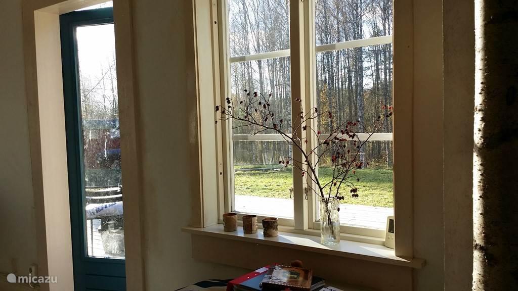 Toegangsdeur vanuit de keuken naar de veranda
