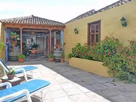 Casa Los Pajeros, terras met patio