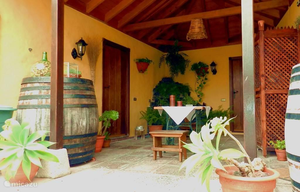 Casa Los Pajeros, patio