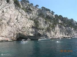Cassis met uitzicht op de Mediterrannee