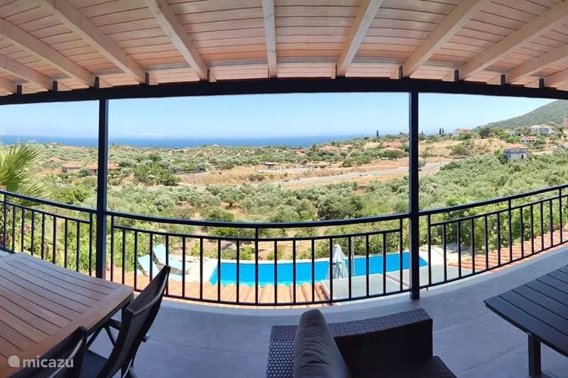 Vakantiehuis Griekenland, Peloponnesos, Koroni Villa Villa Aphrodite, prive-zwembad