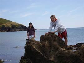 Goat island en Whiting Bay (tussen Ardmore en Youghal)