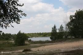 Veel natuurschoon in de directe omgeving van het vakantiehuis (1km).
