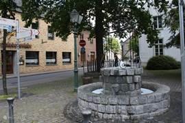 Het gemoedelijke en historische centrum van Walbeck.