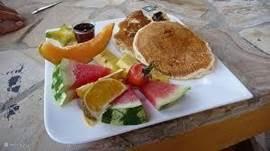 Voor slechts 5$ per persoon zou dit uw ontbijt kunnen zijn bij Monte terras.