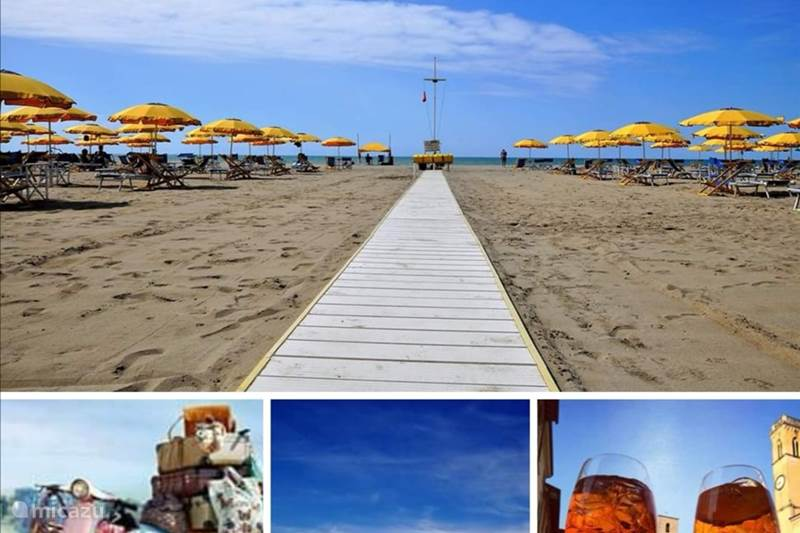 Vakantiehuis Italië, Toscane, Viareggio Stacaravan Stacaravan Italië |Toscane aan zee