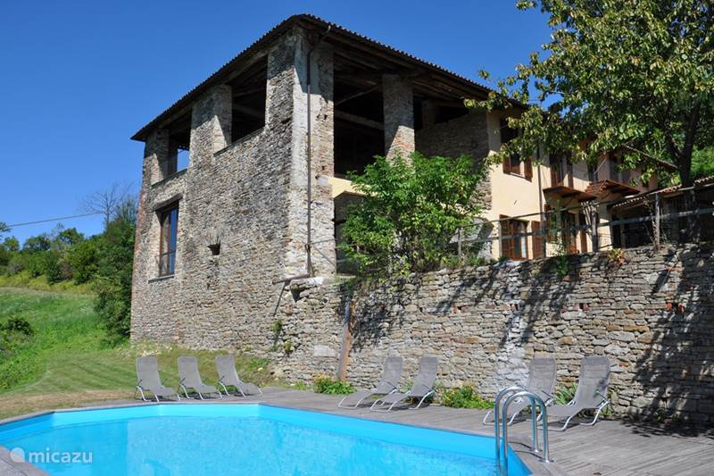 Vakantiehuis Italië, Piëmont, Castellino Tanaro Appartement Casa Ochetto 2-8 personen