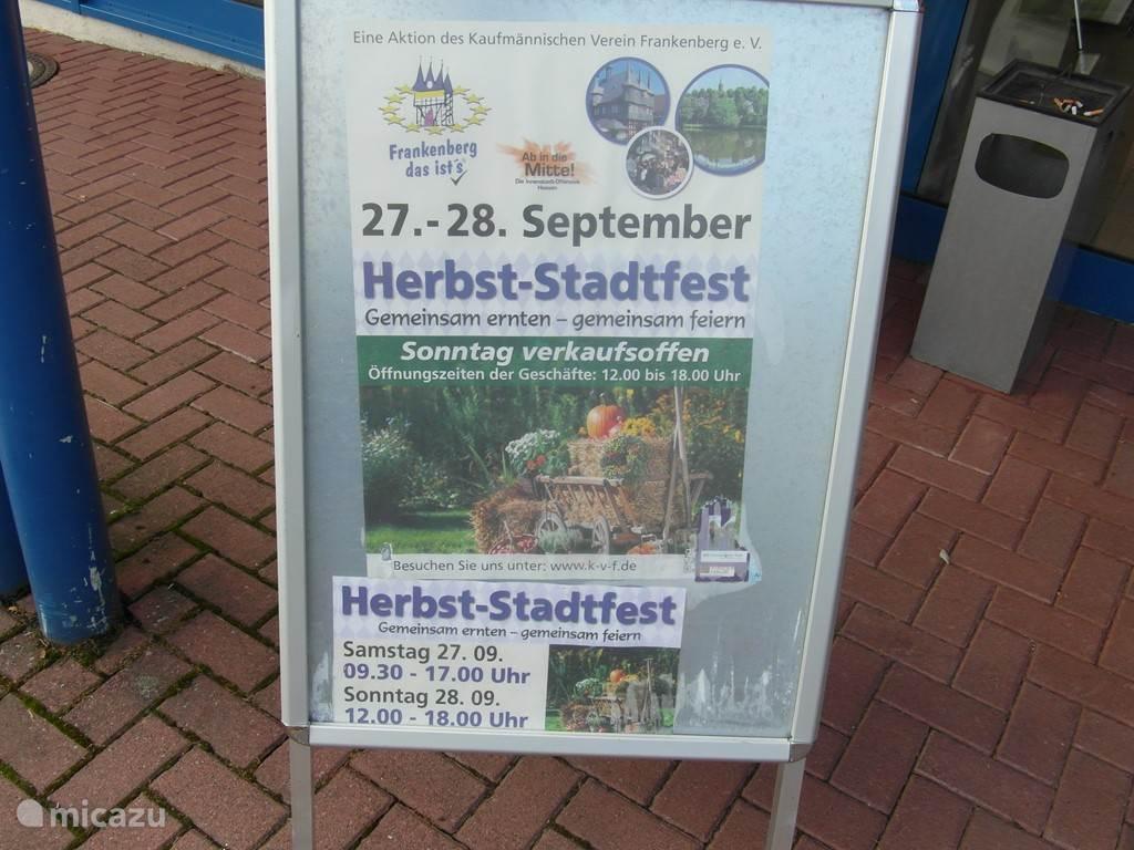 Herbststadtfest Frankenberg