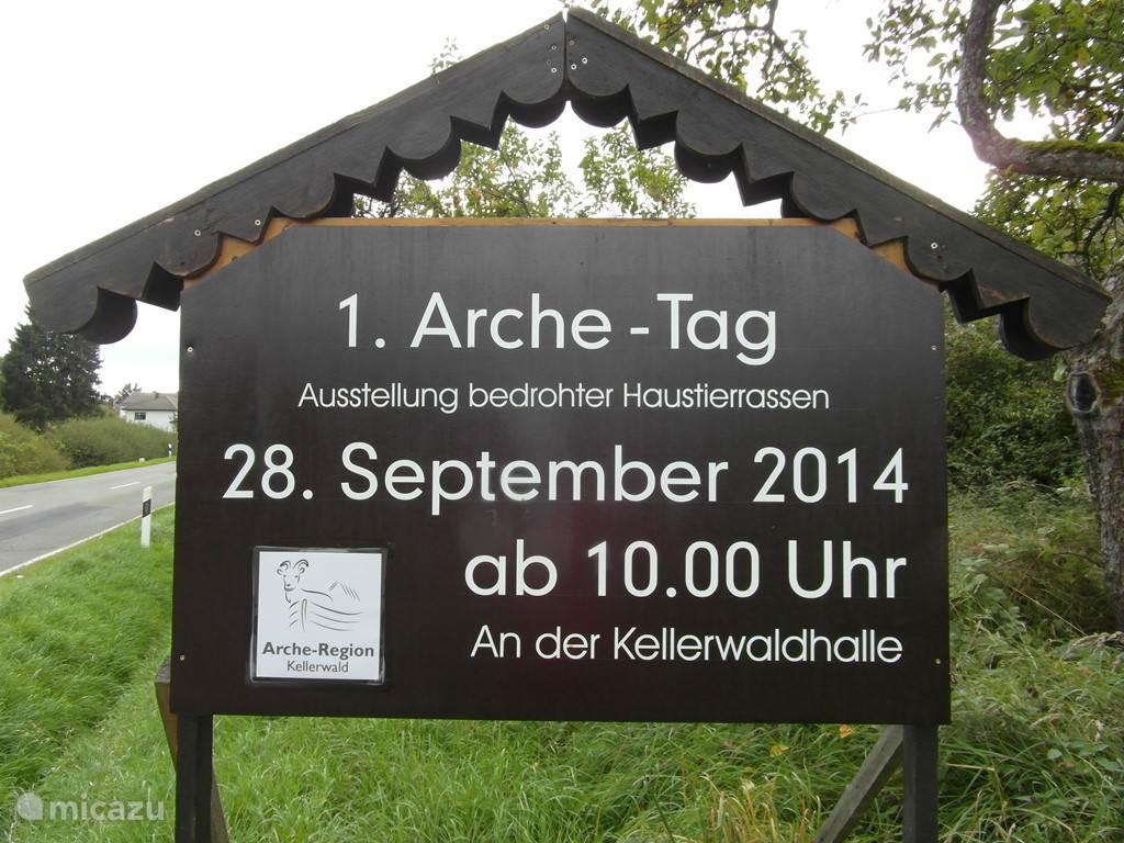 1e Arche Tag in Frankenau