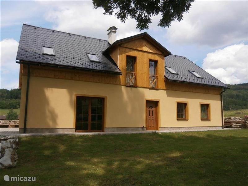 Vakantiehuis Tsjechië, Noord-Bohemen, Lazne Libverda- Hejnice - landhuis / kasteel Green Wellness Hill - Lazne Libverda