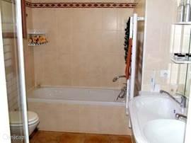 Impressie badkamer begane grond.