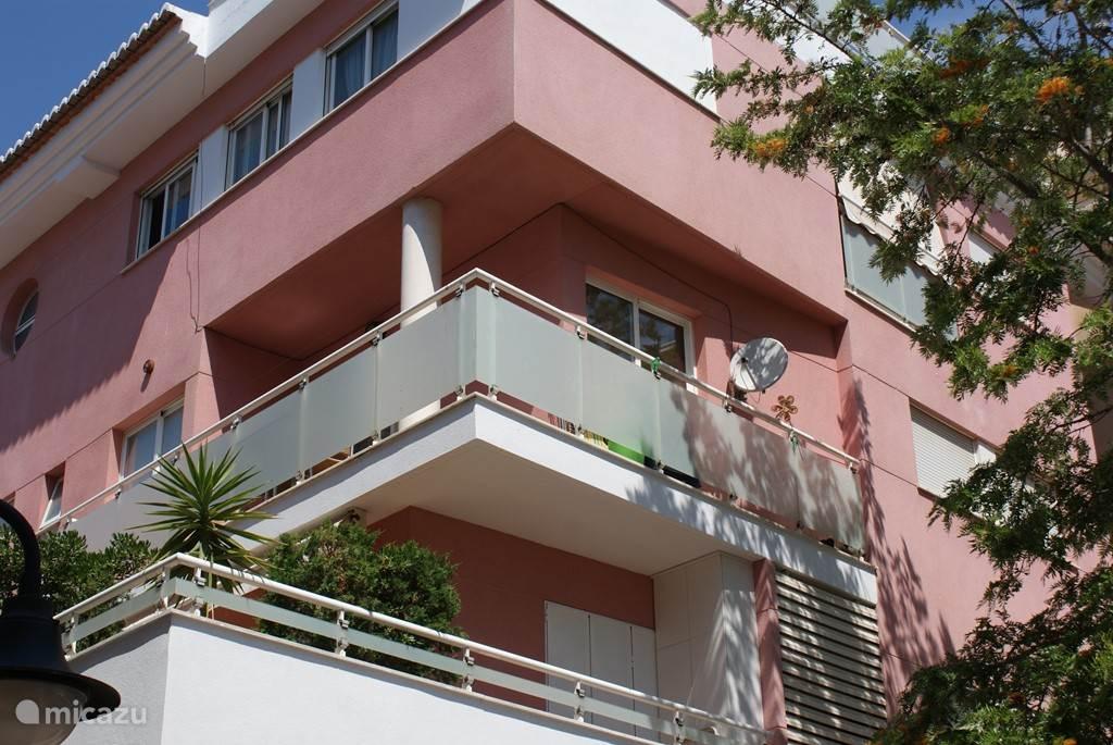 Balkon appartement La Paz