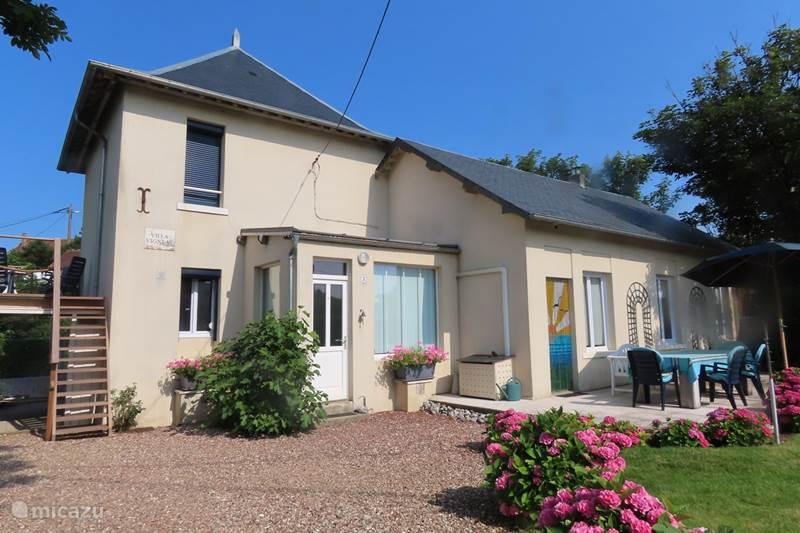 Vakantiehuis Frankrijk, Seine-Maritime, Mesnil-Val Villa Villa Vigneau, aan zee.