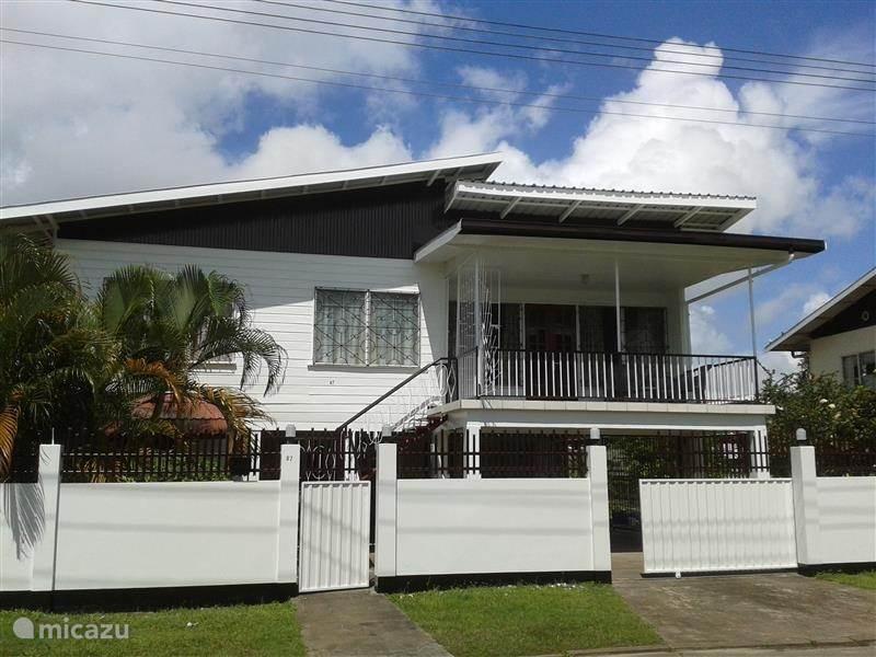 Vakantiehuis Suriname, Paramaribo, Paramaribo Vakantiehuis Rainville
