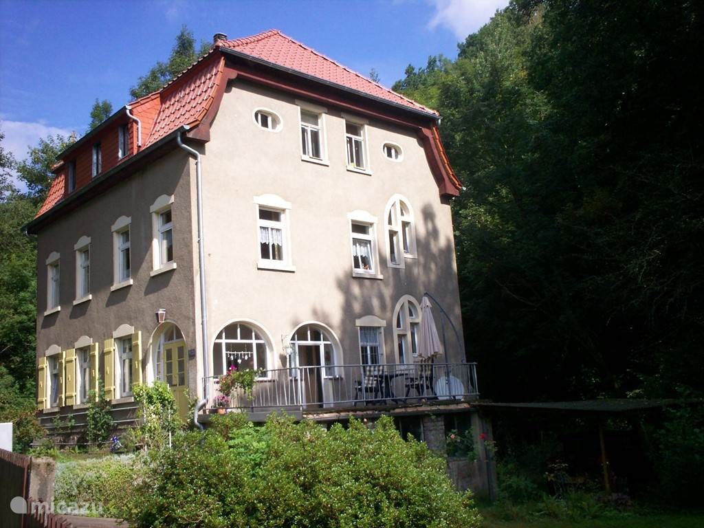 Vacation rental Germany, Saxony, Waldheim - holiday house Rosa's Garden