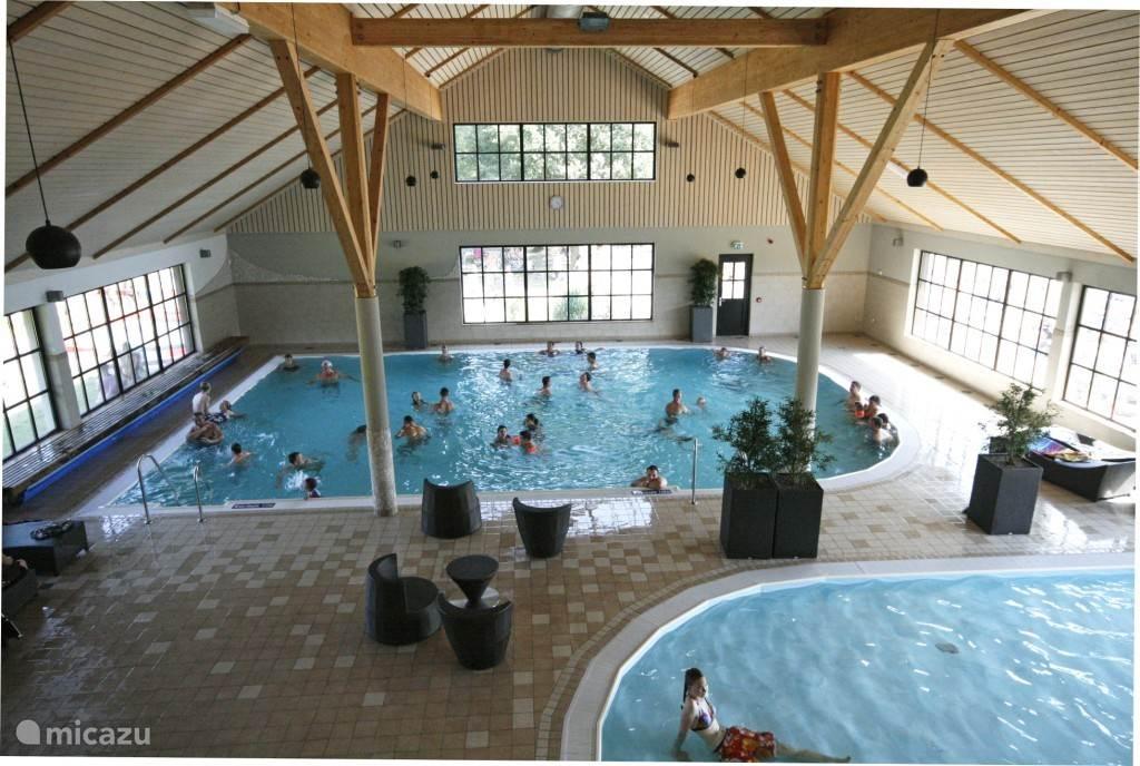Zwembad aanwezig op vakantiepark