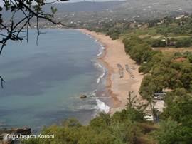 Zaga beach Koroni