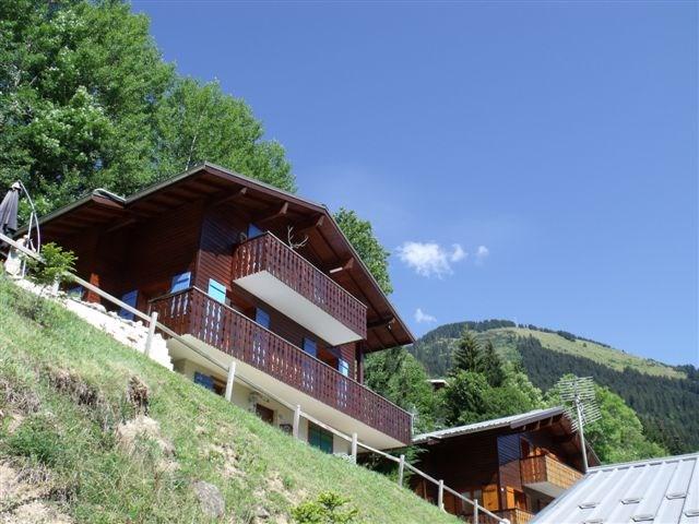 20 % korting in maanden juli, augustus en september. Prachtig chalet in Châtel Franse alpen: 10 personen met veel privacy