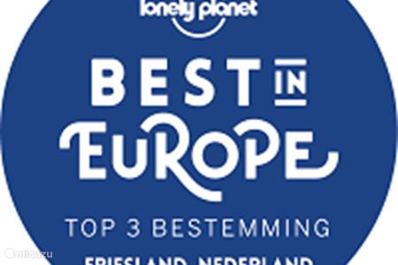 Friesland op de 'Best in Europe' lijst van Lonely Planet