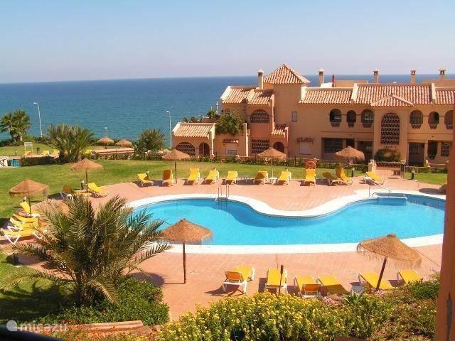 Vakantiehuis Spanje, Costa del Sol, Mijas Costa Appartement Residentie La Joya